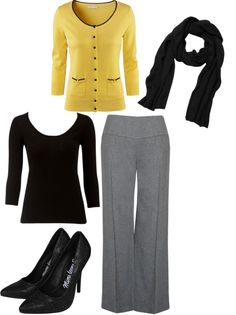 """Office wear!"" by eleganteve on Polyvore"