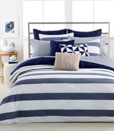 nautical blue and white bedding - Google Search