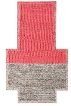 Karpet GAN-rugs Mangas plait coral