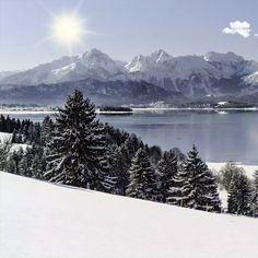 A great pleasure in every season. Bavaria, Restaurant Bar, Mount Rainier, Oriental, Seasons, Mountains, Nature, Travel, Naturaleza
