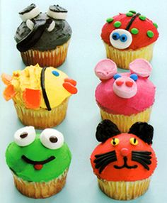 Animals Themed Cupcakes How-To