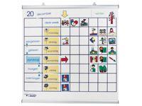 Activiteitenbord magnetisch onderbouw