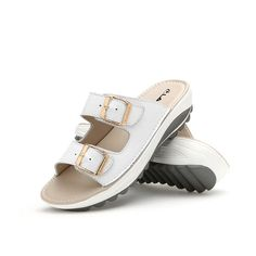 2012f6f97 Socofy Candy Color Leather Buckle Metal Color Match Platform Beach Sandals  Slippers is comfortable to wear. Shop on NewChic to see other cheap women  sandals ...