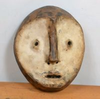lega Mask  from  DRC congo