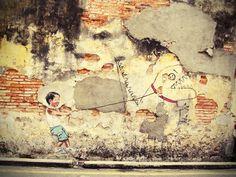Penang Street Art (Pet Dino)