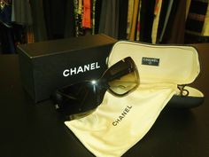 Designer Sunglasses by Chanel. Ms. Mulligan's Consignment Boutique