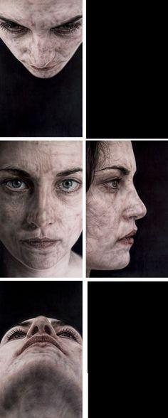 Vania Comoretti, 1975 | Hyperrealist Portrait painter | Tutt'Art@ | Pittura * Scultura * Poesia * Musica |