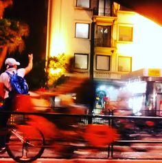 Night bike nude na Paulista