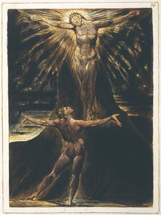 File:Jerusalem The Emanation of The Giant Albion, copy E, object 76 (Bentley Erdman Keynes william blake William Blake, Mystery Of Light, Canon Law, Images Of Christ, Artwork Images, Christen, Great Artists, Mystic, Religion