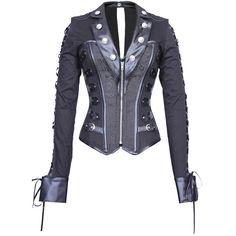 Lady Gothica's Shirt Corset - The Violet Vixen