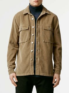 For mens fashion check out the latest ranges at Topman online and buy today. Topman - The only destination for the best in mens fashion Shirt Jacket, Shirt Outfit, Bomber Jacket, Outdoor Outfit, Military Jacket, Menswear, Leather Jacket, Beige, Mens Fashion