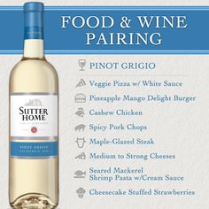 SUTTER HOME has created this wonderful paring chart to helpt those of use who need the nudge or are never quite certain what to serve with our favorite wine... SH_food_pairing_PG