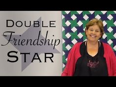 http:& - Jenny Doan shows us how to make The Double Friendship Star Quilt using yardage or jelly rolls inch strips of prec. Jenny Doan Tutorials, Msqc Tutorials, Quilting Tutorials, Quilting Tips, Patchwork Quilting, Star Quilt Blocks, Star Quilts, Easy Quilts, Missouri Quilt Tutorials