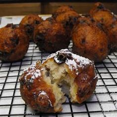 Oliebollen (Dutch Doughnuts) Recipe - just like Oma used to make at Christmas :D