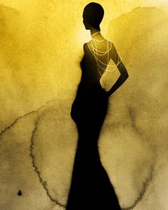 Kareem Iliya - Fashion illustrator, America, watercolor