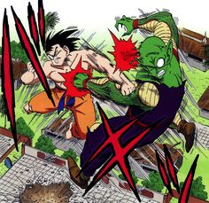 Goku vs Piccolo