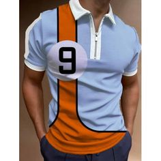 Cheap Mens Shirts, Mens Shirts Online, Style Casual, Casual Tops, Men's Style, Plein Air, Tee Design, Golf Shirts, Comfortable Fashion