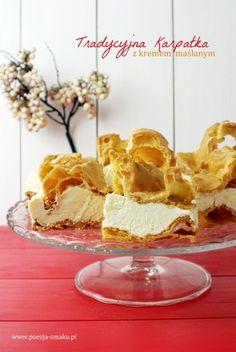 Karpatka – ciasto ptysiowe z maślanym kremem