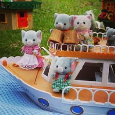 Look at this #SylvanianSummer ice bucket challenge