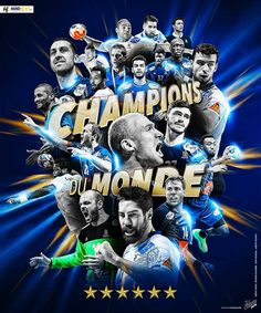 La France Championne du Monde de Handball 2017 Champions, Movie Posters, Events, France, Sports, Art, World, Handball, Hs Sports