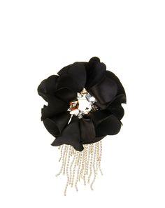 Lanvin FLOWER BROOCH, Brooch Women | Lanvin Online Store