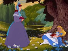 Ways our lives are a lot like Alice's~We occasionally fall asleep at inopportune moments.