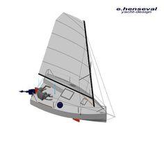 Eric Hensheval new 14' Inseperable 398 micro cruiser
