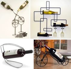 Four of 24 creative wine racks and cellars to be jealous of.