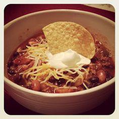 easy crockpot taco soup