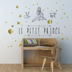 Quel beau sticker !  chez Alfred&compagnie on aime les belles choses . Voici le sticker Le petit prince.  Plus de renseignement sur notre site web : www.alfredetcompagnie.com