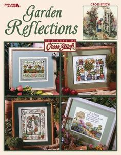 Garden Reflections - Cross Stitch Pattern
