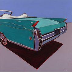"""igormaglica: """"Melissa Chandon, Bleu Caddy, ca. 2010. acrylique sur toile, 48 """"x 48"""" """""""