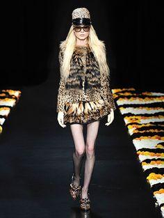 Défilé Automne-hiver 2012-2013 Roberto Cavalli - Les lunettes défilent