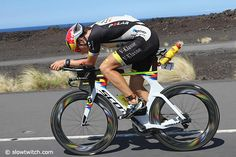 Here is a look at the professional males and their bikes during the undulating bike segment of the 2016 IRONMAN World Championships in Kona, Hawaii. Kona Bikes, Triathlon Bikes, Cycling Workout, Bike Run, Corvette, Iron Man, Bicycle, Swimming, Fit