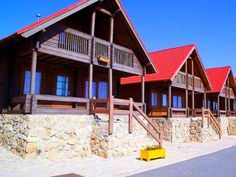 Luna Mountain Chalets in Serra da Estrela - Portugal: A breathtaking view of the mountainous plateau!