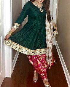 FatimaBi Plus size Patiala Salwar Indian Engagement Partywear Green Shalwar Suit Pakistani Dress Design, Pakistani Outfits, Indian Outfits, Dress Indian Style, Indian Dresses, Indian Attire, Indian Wear, Indian Designer Outfits, Designer Dresses