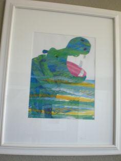 Eric Carle Nursery Art - so cute!  Nursery #2?