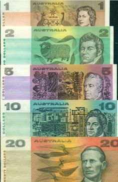 Australian Paper Money as it was . Australian Money, Australian Icons, Old Money, Old Coins, My Childhood Memories, Silhouette, My Memory, The Good Old Days, Roman Empire