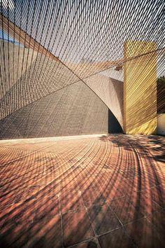 Eco Pavilion . MMX Studio . Mexico City  The Eco Pavilion at the Museo   Photo © Yoshihiro Koitani