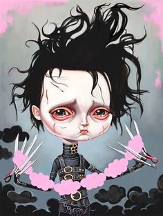 ♥ Edward Scissorhands ♥ by Melanie Schultz