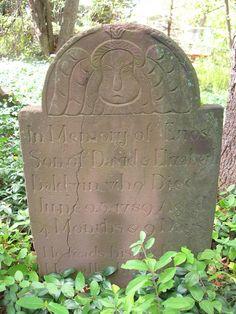 Enos Baldwin 1789 Baldwin Cemetery, Livingston, NJ