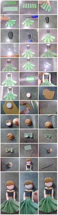 Anna clay tutorial by Dee-DeeQ.deviantart.com on @deviantART