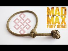 How to Make a Single Strand Knot and Loop Paracord Friendship Bracelet-Celtic Button Knot - YouTube