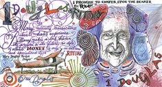 Money designed by Will Self, Tracey Emin, J. Franzen and more....