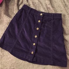 Size 0 Urban Outfitters Navy Skirt Perfect condition ! Urban Outfitters Skirts Mini