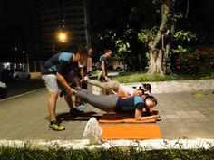 Treino preparatório pra 14ª Maratona de Revezamento do PA em 10/06/2015.