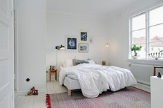bedroom - Charlotte's apartment in Gothenburg