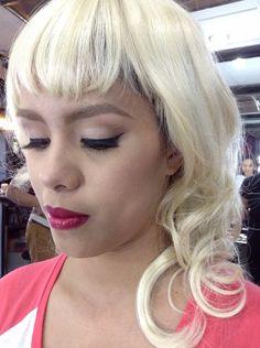 50's makeup 50s Makeup, Makeup Looks, Make Up Looks
