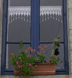 1000+ images about Petits rideaux. on Pinterest  Cortinas ...