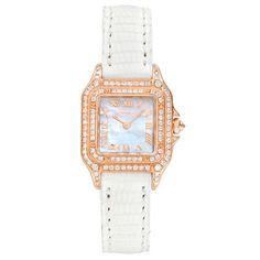 Pre-Owned Cartier Panthére Small Quartz Rose Gold & Diamond